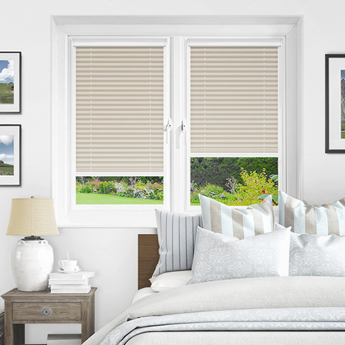 Cream PX4002 Lifestyle INTU Pleated Blinds