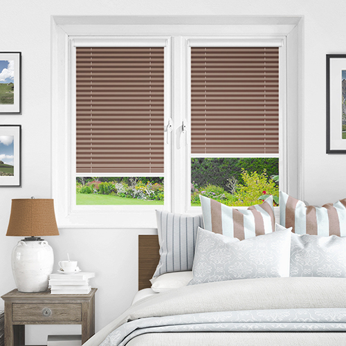 Taupe PX4105 Lifestyle INTU Pleated Blinds