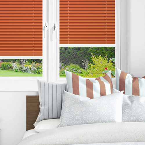 Terracotta PX4110 Lifestyle INTU Pleated Blinds