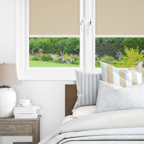Newlyn Ecru Lifestyle INTU Roller Blinds
