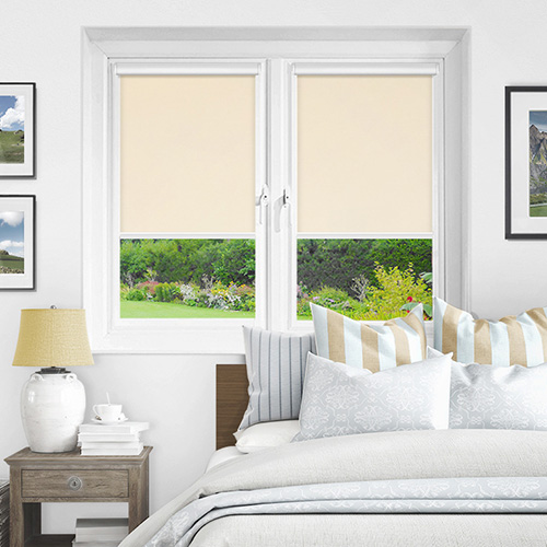 Newlyn Ivory Lifestyle INTU Roller Blinds
