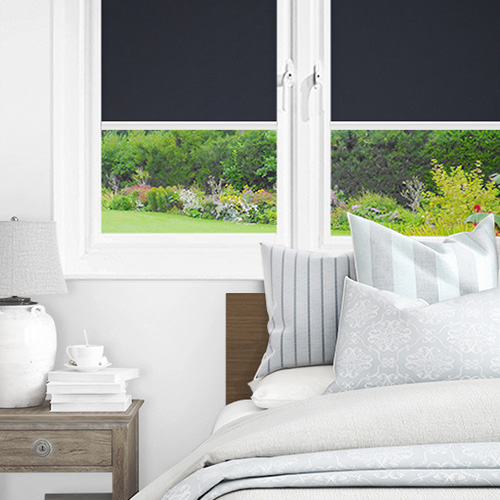 Newlyn Navy Lifestyle INTU Roller Blinds