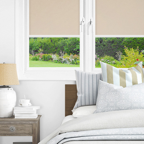 Newlyn Papaya Lifestyle INTU Roller Blinds