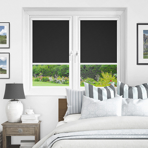 Newlyn Raven Lifestyle INTU Roller Blinds