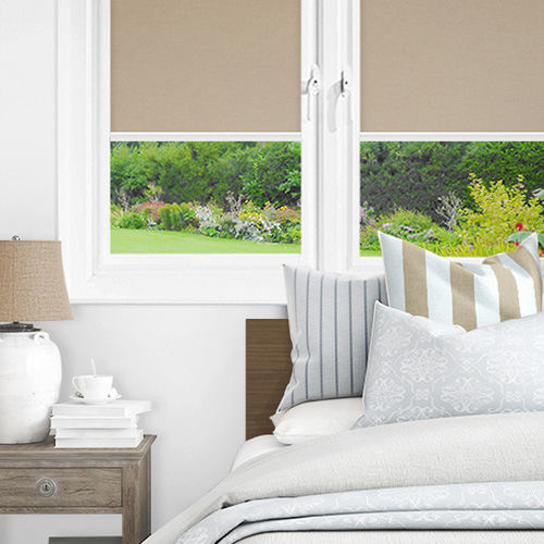 Newlyn Taupe Lifestyle INTU Roller Blinds