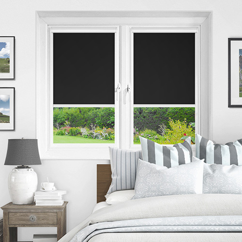 Ex Lite Black Lifestyle INTU Roller Blinds