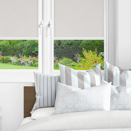 Ex Lite Light Grey Lifestyle INTU Roller Blinds