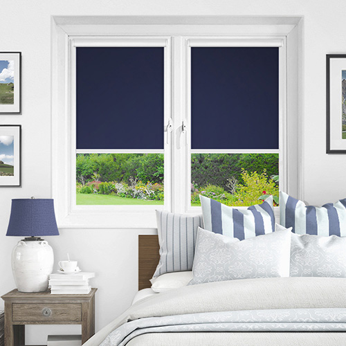 Ex Lite Navy Lifestyle INTU Roller Blinds