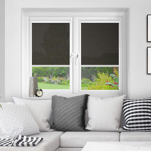 Wick Graphite Lifestyle INTU Roller Blinds