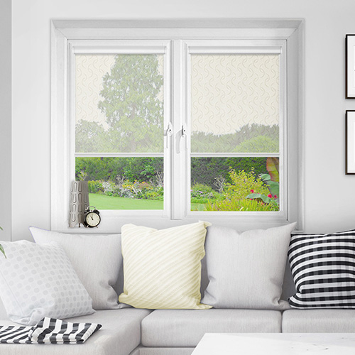 Luthrie Cream Lifestyle INTU Roller Blinds