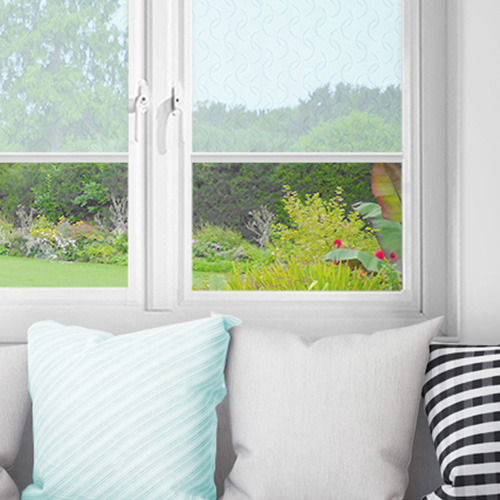 Luthrie Ice Blue Lifestyle INTU Roller Blinds