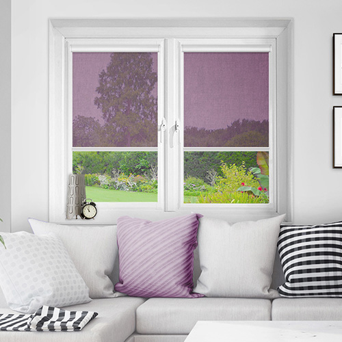 Motherwell Grape Lifestyle INTU Roller Blinds