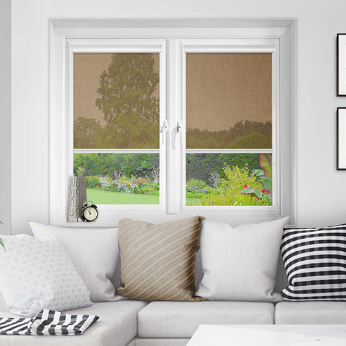 Motherwell Papaya Lifestyle INTU Roller Blinds