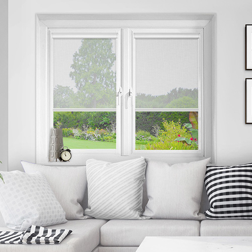 Vistaview White Lifestyle INTU Roller Blinds