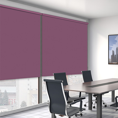 Aubergine ROL ASC Lifestyle Office Blinds