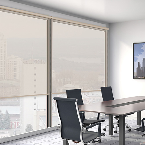 ROLTRA Beige Lifestyle Office Blinds