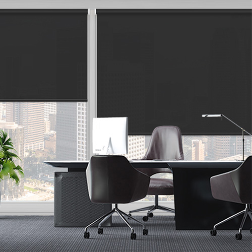 UniRol Black Lifestyle Office Blinds