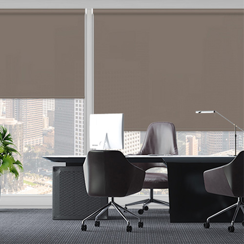 UniRol Chocolate Lifestyle Office Blinds