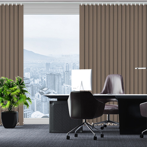UniVert Chocolate Lifestyle Office Blinds