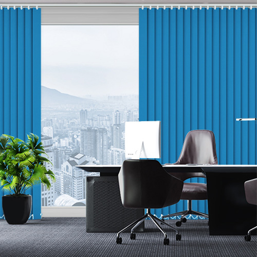 UniVert Cyan Lifestyle Office Blinds