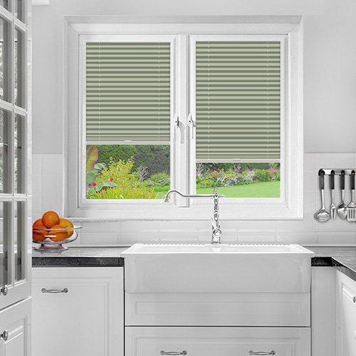 Foxcote Mint Lifestyle Perfect Fit Pleated Blinds