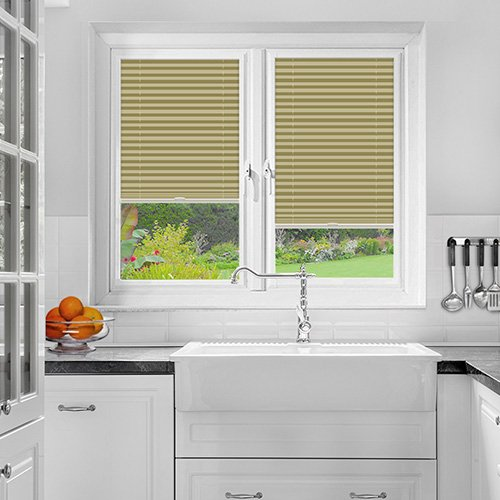 Foxcote Soft Cream Lifestyle Perfect Fit Pleated Blinds