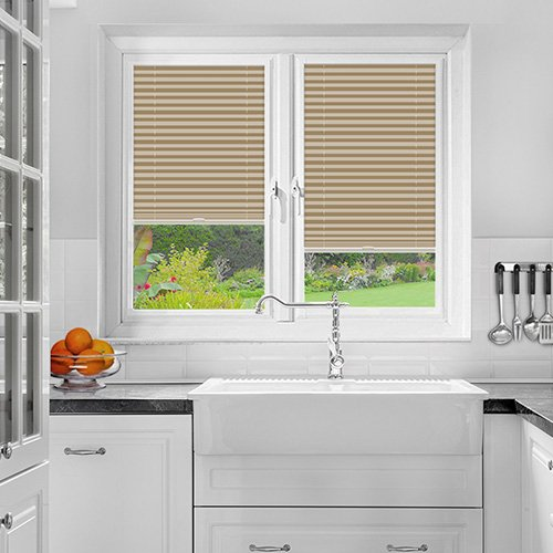 Foxcote Soft Peach Lifestyle Perfect Fit Pleated Blinds