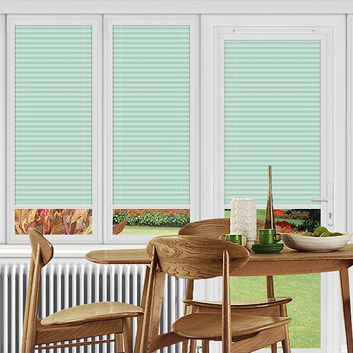 Dunball Green Lifestyle Perfect Fit Pleated Blinds