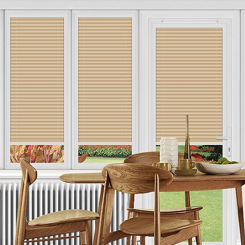Dunball Peach Lifestyle Perfect Fit Pleated Blinds