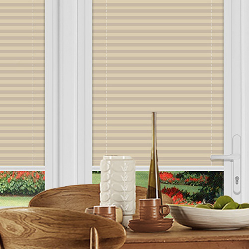 Ogden Beige Lifestyle Perfect Fit Pleated Blinds