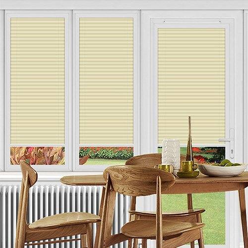 Pallister Cream Lifestyle Perfect Fit Pleated Blinds