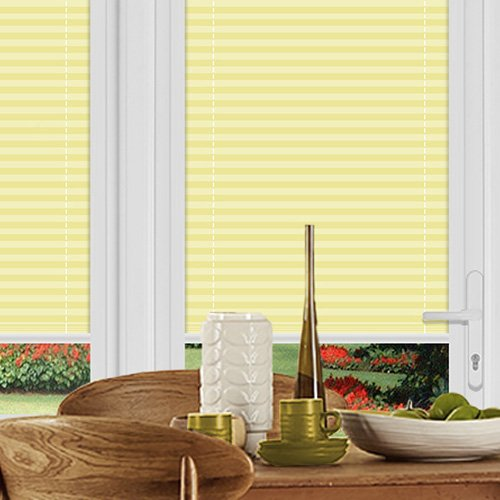 Rosewell Lemon Lifestyle Perfect Fit Pleated Blinds