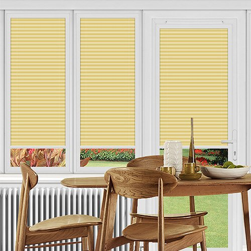Rosewell Sandstone Lifestyle Perfect Fit Pleated Blinds