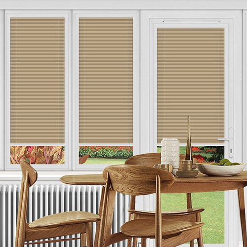Rosewell Taupe Lifestyle Perfect Fit Pleated Blinds
