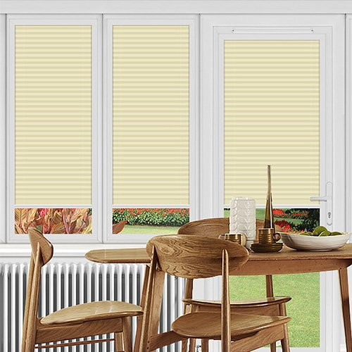 Washford Cream Lifestyle Perfect Fit Pleated Blinds