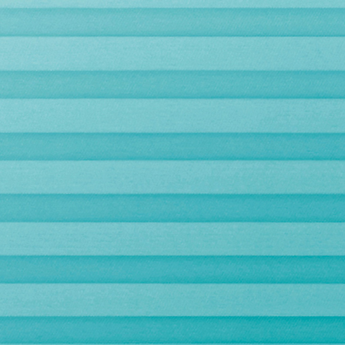 Pallister Turquoise Perfect Fit Pleated Blinds
