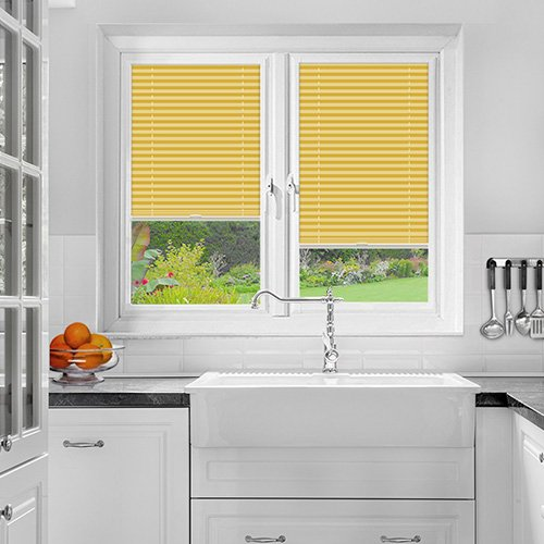 Ramshaw Tangerine Perfect Fit Pleated Blind