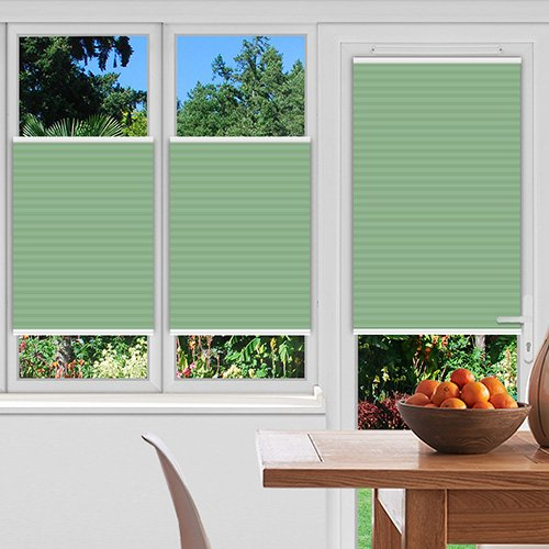 Foxcote Mint Lifestyle Pleated blinds