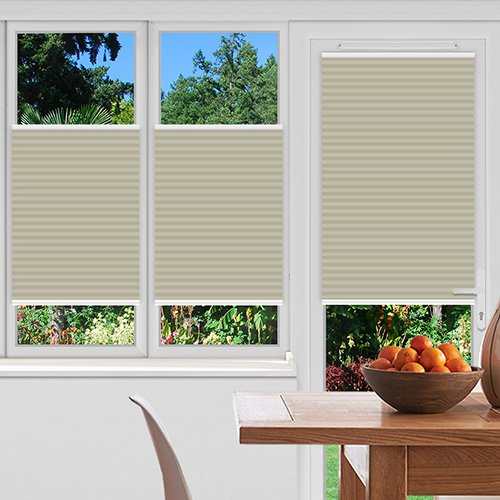 Foxcote Soft Off White Lifestyle Pleated blinds