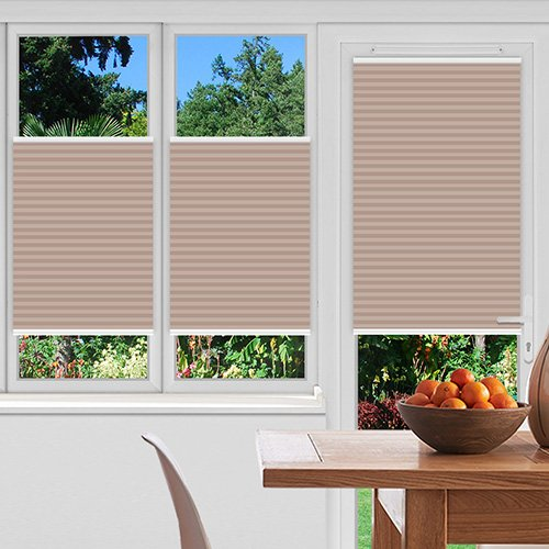 Foxcote Soft Peach Lifestyle Pleated blinds