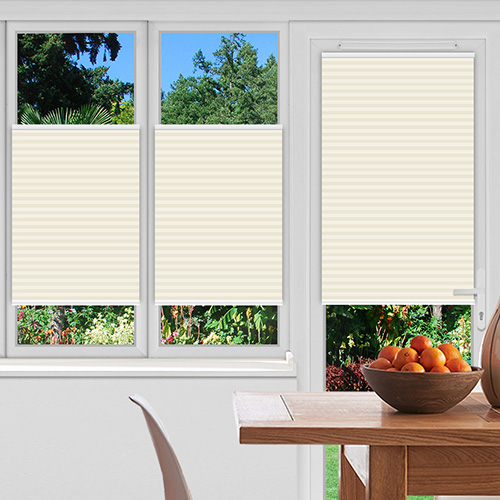 Ogden Ivory Lifestyle Pleated blinds