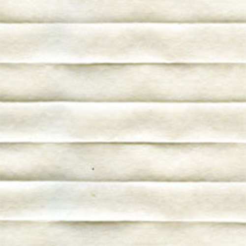 Ogden Ivory Pleated blinds