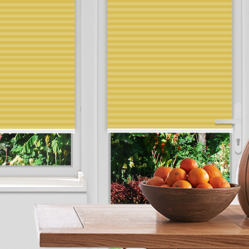 Pallister Sunset Lifestyle Pleated blinds