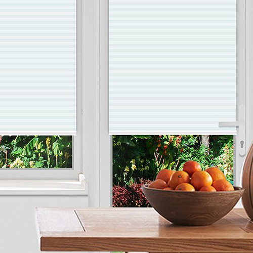 Rosewell Ice Lifestyle Pleated blinds