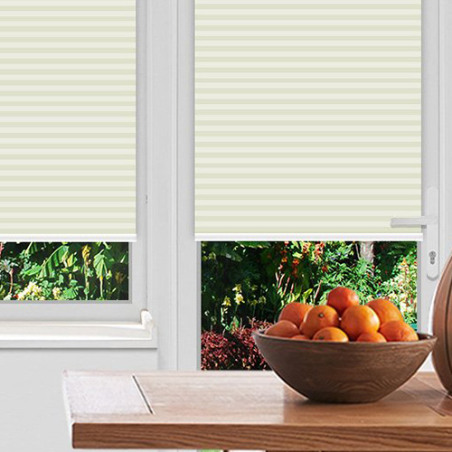 Rosewell Ivory Lifestyle Pleated blinds