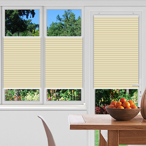 Rosewell Linen Lifestyle Pleated blinds