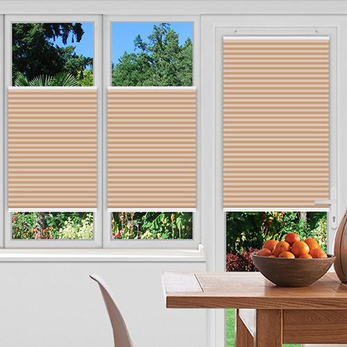 Washford Brick Lifestyle Pleated blinds