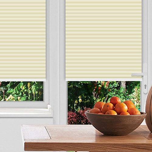 Washford Cream Lifestyle Pleated blinds