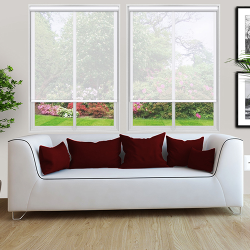 Voile Bright White Lifestyle Roller blinds