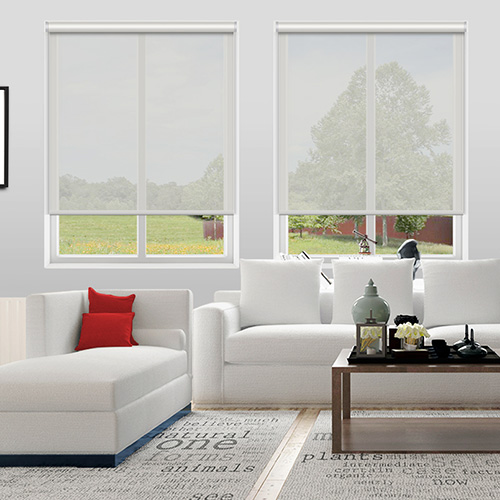 Voile Ghost White Lifestyle Roller blinds
